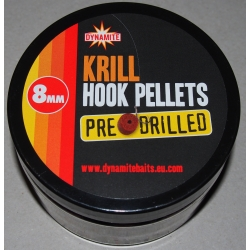 Dynamite Baits Krill Hook Pellets Pre Drilled 8 mm